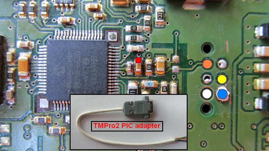 landrover tmpro2you can read and program pic18f6620 with tmpro, download connection diagram